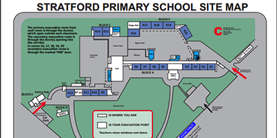 School Site Map